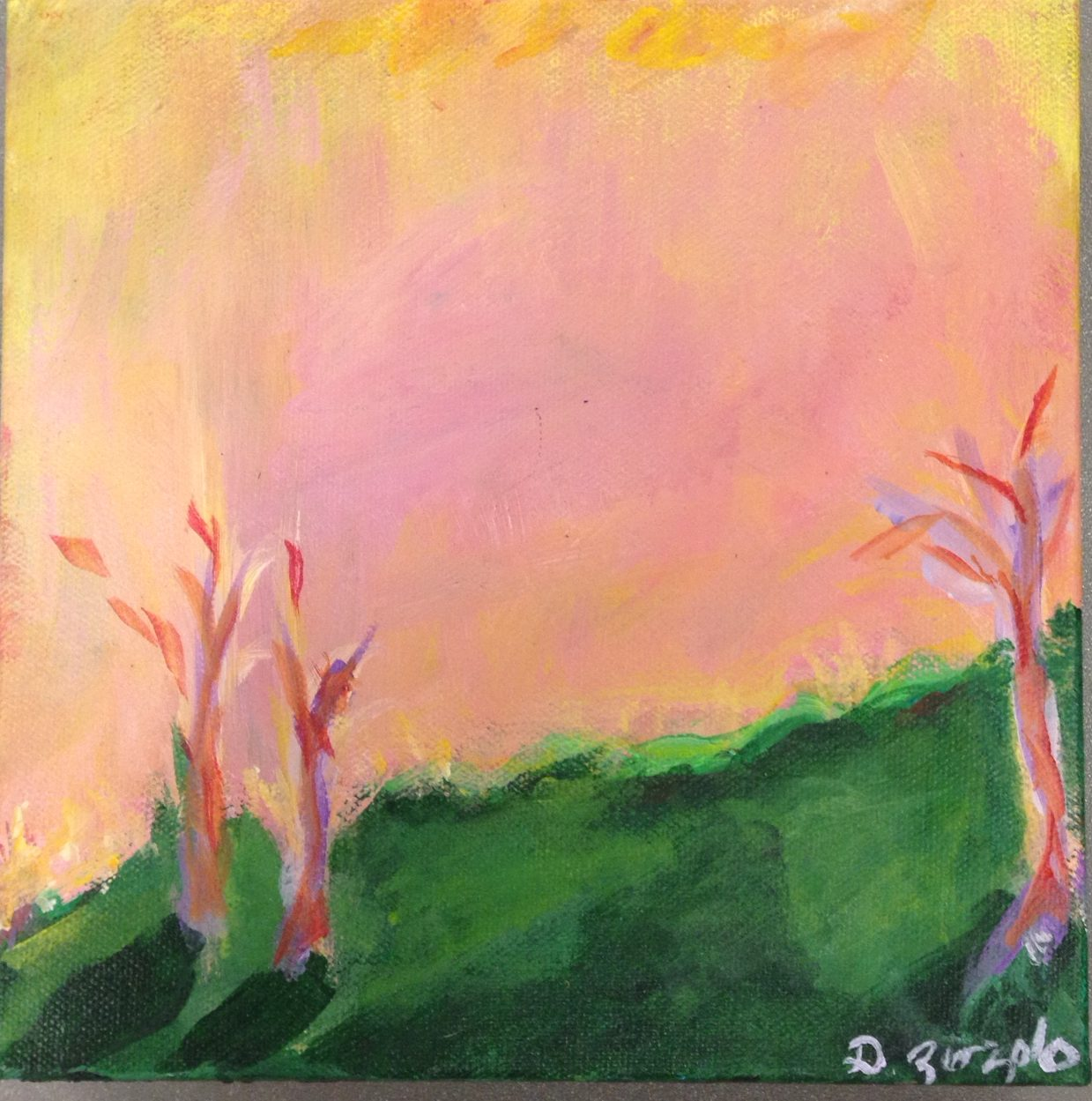 Pink Sky (SOLD)